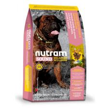 S8 NUTRAM Sound Balanced Wellness Large Breed Adult Dog корм холистик с курицей для взрослых крупных собак 11,4кг; 20кг