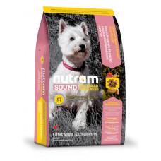 S7 NUTRAM Sound Balanced Wellness Small Breed Adult Dog корм холистик для взрослых мелких собак 0,32кг; 2кг; 20кг