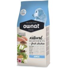 Ownat (Овнат)  Junior Classic сбалансированный рацион с курицей для щенков и юниоров  4кг; 15кг