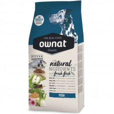 Ownat (Овнат) Dog Classic Adult Fish корм для собак с рыбой 4кг; 20кг