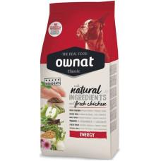 Ownat (Овнат) Dog Classic Adult Energy корм для взрослых собак с высоким уровнем активности 4кг; 20кг