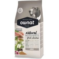 Ownat (Овнат) Dog Classic Adult Light корм с курицей для малоактивных и страдающих избыточным весом собак 4кг; 20кг