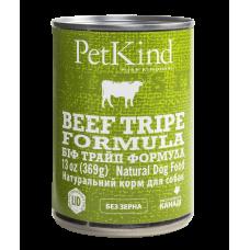 PetKind (ПетКайнд) Beef Tripe Formula консерва для собак из говядины и говяжьего рубца 369г