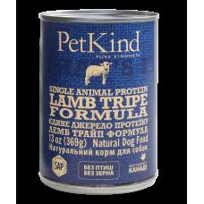 PetKind (ПетКайнд) Lamb Tripe Single Animal Protein Formula консерва для собак с новозеландским ягненком и овечьим рубцом монопротеиновая формула 369г