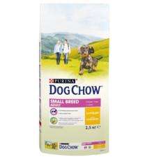 Dog Chow (Дог Чау) Adult Small Breed. Корм для взрослых собак малых пород с курицей 2.5 кг; 7,5кг