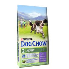 Dog Chow (Дог Чау) Adult Lamb. Корм для взрослых собак с ягненком 2.5 кг; 14кг