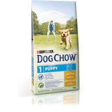 Dog Chow (Дог Чау) Puppy. Корм для щенков с курицей и рисом 2.5 кг; 7,5кг