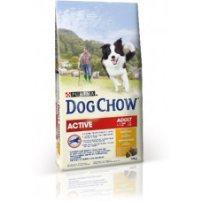 Dog Chow (Дог Чау) Adult Active. Корм для активных собак 2.5 кг; 14кг