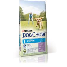 Dog Chow (Дог Чау) Puppy. Корм для щенков с ягненком и рисом 2.5 кг; 14кг