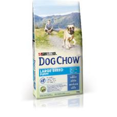 Dog Chow (Дог Чау) Large Breed Puppy Корм для щенков крупных пород с индейкой 14кг