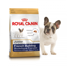 Royal Canin (Роял Канин) French Bulldog Junior корм для щенков породы Французский бульдог 1кг