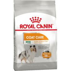 Royal Canin (Роял Канин) Mini Coat Care корм для собак мелких пород с тусклой и сухой шерстью 1кг; 3кг