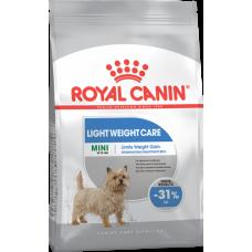 Royal Canin (Роял Канин) Mini Light Weight Care корм для собак мелких пород, предрасположенных к избыточному весу 1кг; 3кг