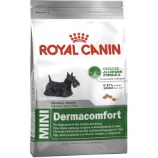 Royal Canin (Роял Канин) Mini Dermacomfort корм для собак мелких пород с аллергическим раздражением на коже 0.8кг