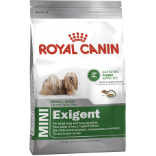 Royal Canin (Роял Канин) Mini Exigent корм для переборчивых собак малых пород 1кг;3кг