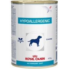 Royal Canin (Роял Канин) Hypoallergenic консервированный гипоаллергенный корм для собак 400г