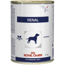 Royal Canin (Роял Канин) Renal Dog консервированный диетический корм для собак, страдающих почечной недостаточностью 0,41кг