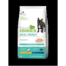 Trainer (Трейнер) Natural Super Premium Weight Care Small & Toy Adult сухой корм с курицей и индейкой для собак мелких пород с избыточным весом 0,8кг; 2кг; 7кг