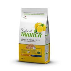 Trainer (Трейнер) Natural Super Premium Adult Mini Con Pollo Fresco, Riso & Aloe Vera сухой корм с курицей, рисом и Алоэ Вера для собак мелких пород 0,8кг; 2кг; 7кг