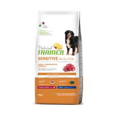 Trainer (Трейнер) Sensitive Adult Medium & Maxi With Lamb сухой корм с ягненком для собак средних и крупных пород с чувствительным пищеварением 3кг; 12кг