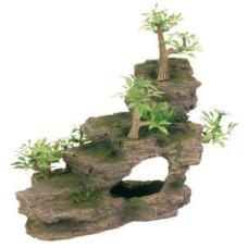 Trixie (Трикси) Грот Каменная лестница с растениями