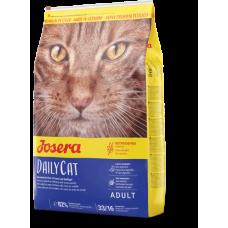 Josera (Йозера) DailyCat. Полноценный корм с курицей для котов 2кг;4,25кг;10кг