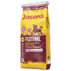 Josera (Йозера) Festival. Полноценный корм с деликатным соусом для требовательных взрослых собак 0,9кг; 15кг