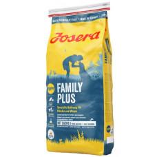 Josera (Йозера) Femily Plus. Специальное питание для щенков, кормящих и беременных собак 15кг