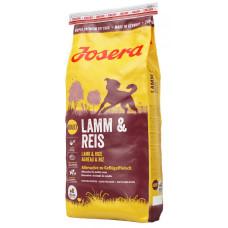 Josera (Йозера) Lamb&Rice. Полноценный корм для собак с мясом ягненка 0.9кг; 15кг