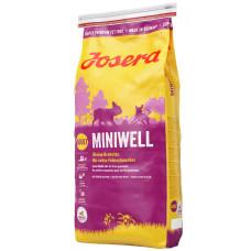 Josera (Йозера) Miniwell. Полнорационный сухой корм для собак мелких пород 0.9кг;15кг