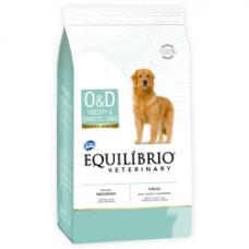 Equilibrio Veterinary Dog ОЖИРЕНИЕ ДИАБЕТ лечебный корм для собак