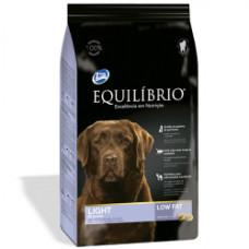 Equilibrio (Эквилибрио) Dog Light сухой суперпремиум низкокалорийный корм с курицей для собак средних и крупных пород 2кг; 15кг