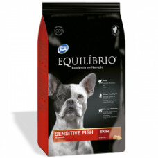 Equilibrio (Эквилибрио) Dog Sensitive Fish All Breeds сухой суперпремиум корм с рыбой для собак всех пород 2кг; 15кг
