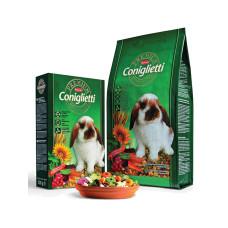 Padovan (Падован) Premium Coniglietti. Комплексный основной корм для кроликов 0.5 кг;2кг