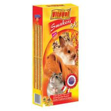Vitapol (Витапол) Smakers 3in1. Витаминизированные палочки для грызунов с фруктами, орехами и поп-корном уп