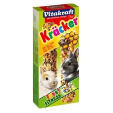 Vitakraft (витакрафт) Cracker. Витаминизированные палочки для кроликов с медом уп