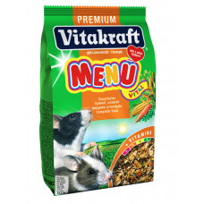 Vitakraft (витакрафт) Menu Vital. Основной корм для крыс и мышей 400г