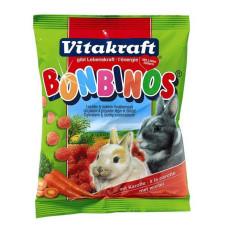 Vitakraft (витакрафт) Bonbinos. Лакомство для кроликов с морковью 40г