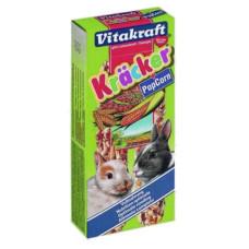 Vitakraft (витакрафт) Cracker. Витаминизированные палочки для кроликов с кукурузой (поп-корн) уп