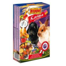 Vitapol (Витапол) Karma. Полнорационный корм для кроликов с фруктами 400г