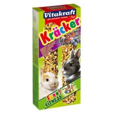 Vitakraft (витакрафт) Cracker. Витаминизированные палочки для кроликов с лесными ягодами уп