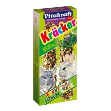 Vitakraft (витакрафт) Kracker. Витаминизированные палочки для шиншил с травами шт
