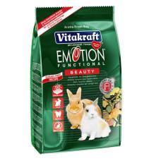 Vitakraft (витакрафт) Emotion Beauty. Ежедневный корм для кроликов 600г