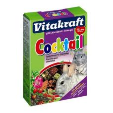 Vitakraft (витакрафт) Coctail. Лакомство для шиншил с шиповником, рябиной и овощами 50г