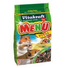 Vitakraft (витакрафт) Menu Vital. Основной корм для хомяков 400г