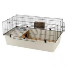 Ferplast CAGE RABBIT 120 PLUS BLACK - клетка для кроликов черная