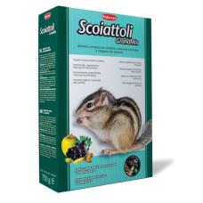 Padovan (Падован) Grandmix Scoiattoli. Комплексный основной корм для белок и бурундуков 0.75 кг